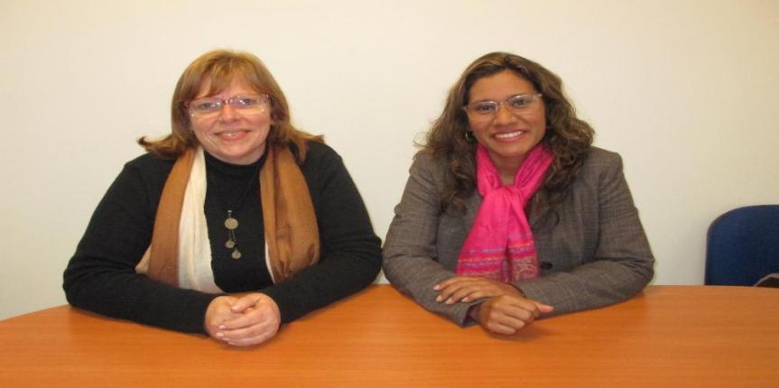 Investigadoras de Venezuela y Brasil realizan visita académica a la sede Santiago de la Universidad