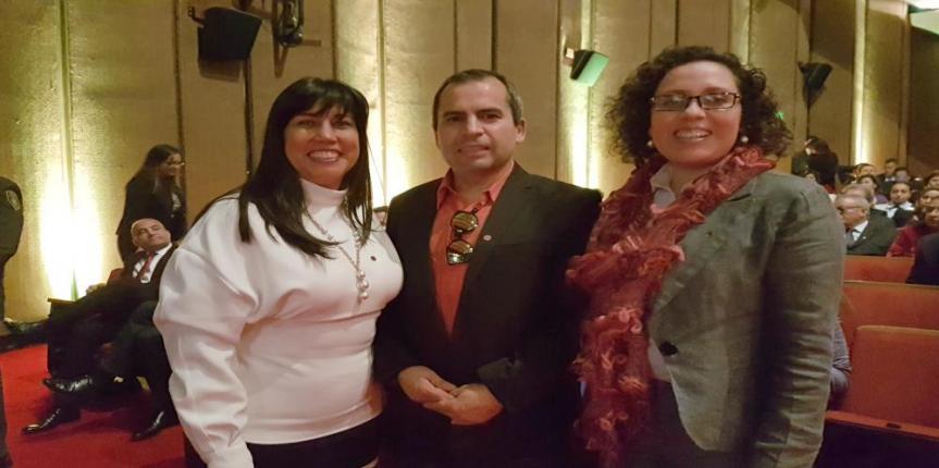 Investigador de la ULagos dictó una conferencia en la Escuela Superior de Administración Pública (ESAP) en Colombia