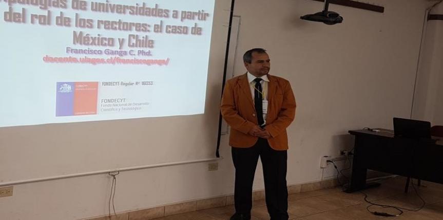 Investigador de la ULagos inauguró II Congreso Internacional de Investigación en las Ciencias Económicas y Administrativas, realizado en México